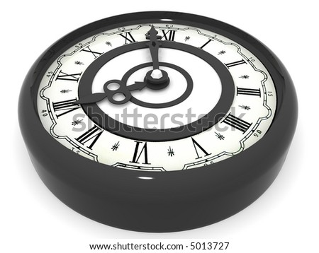Clock. eight o'clock