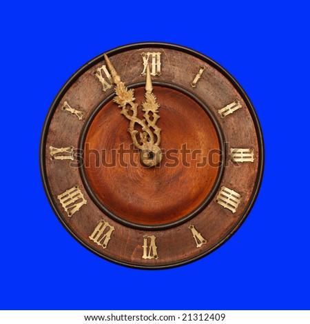 Clock face - stock photo