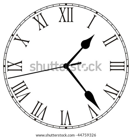 Clock-Face - stock photo