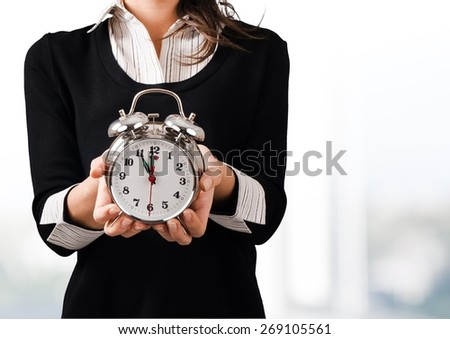 Clock. Time! - stock photo