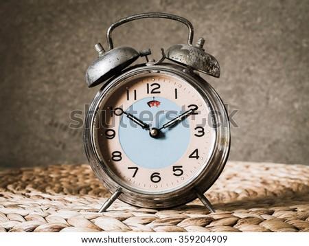 Clock Vintage - stock photo