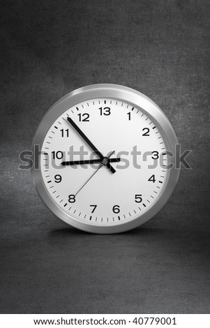 Clock with 13 hours instead of 12. - stock photo