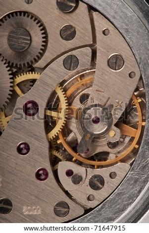 Clockwork - stock photo