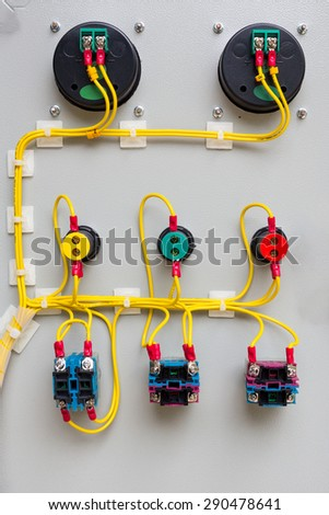 cloclose up of the circuit boardse up of the circuit board - stock photo