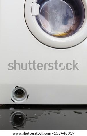wash machine drain clogged