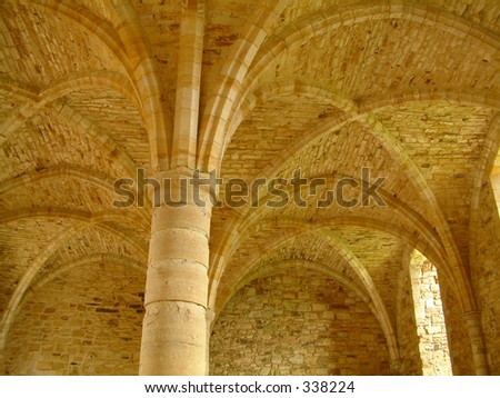 Cloisters - stock photo