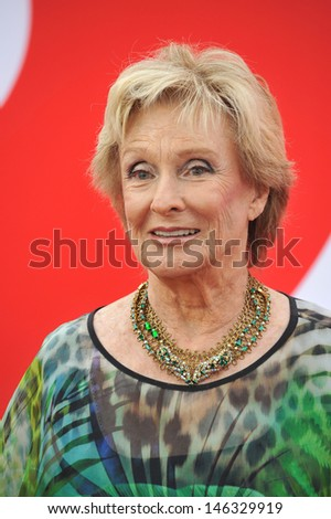 "Cloris Leachman at the Los Angeles premiere of ""Red 2"" at the Westwood Village Theatre. July 11, 2013  Los Angeles, CA"