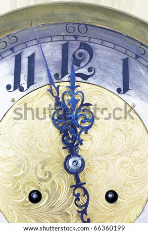 Close to midnight and to the New Year! - stock photo