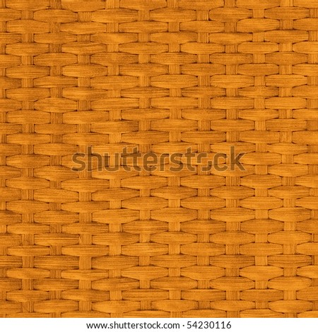 Close-up abstract background from rattan - stock photo