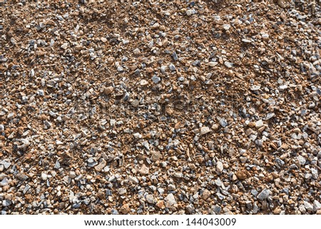 Close up at mound texture