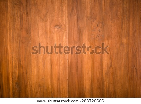close up background and texture of vintage style decorative teak wood furniture surface - stock photo