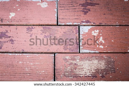 Close-up Background of brick wall pattern texture - stock photo