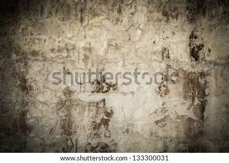 Close-up background of old wall. - stock photo