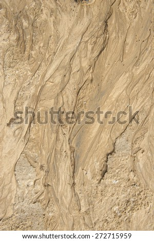 Close up background of sand. - stock photo