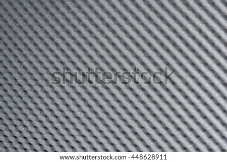 Close up, Background of studio sound acoustical foam - stock photo