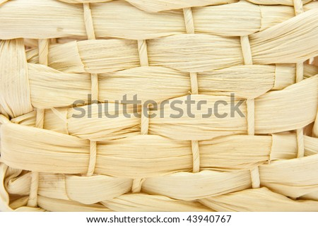 Close up basket weave background