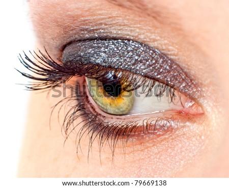 Black Eyelashes Stock Images, Royalty-Free Images & Vectors ...