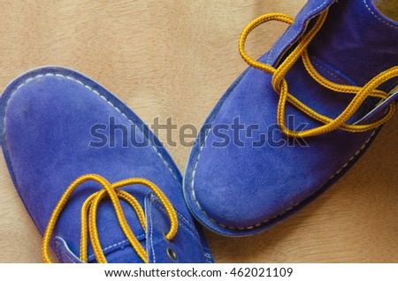 Shoestring Blue Suede Shoes