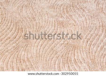 Close up brown carpet or rug texture for home furniture - stock photo