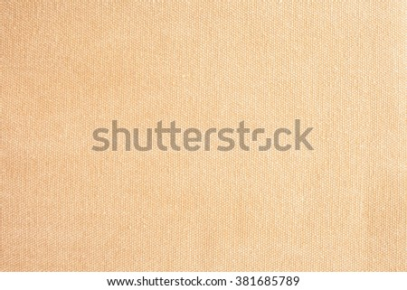 Close up brown color muslin canvas cloth texture