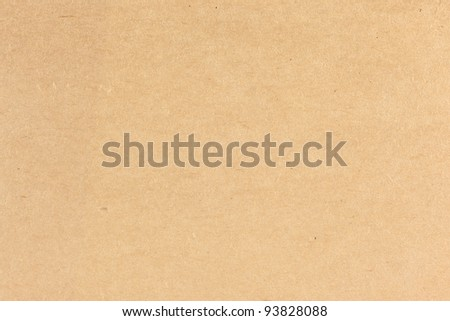 close up Brown Paper Texture - stock photo