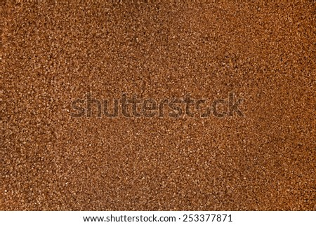 Close up , Brown sugar background , full frame - stock photo