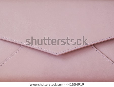 Close-up clutch with space for your logo or text - stock photo