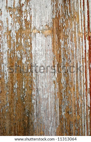 close up detail of an old Spanish wooden door