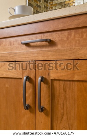 Kitchen Cabinet Handles Stock Images, Royalty-Free Images ...