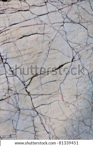 close up detail of marble stone texture surface