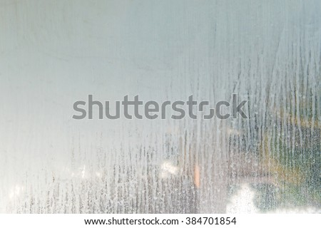 Close Dry Water Stains On Glass Stock Photo Royalty Free - Water stains on walls in bathroom