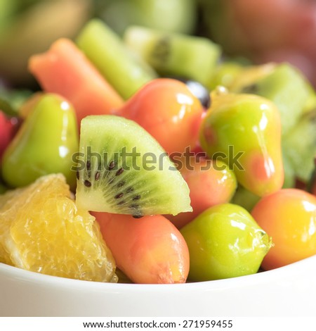 Close-up Fruits salad