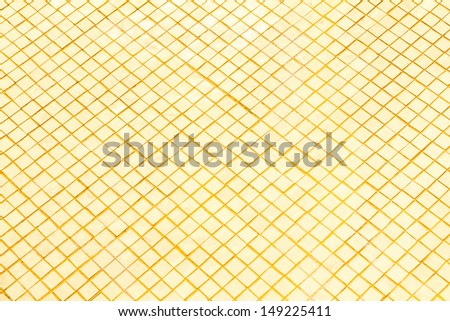 close up gold plate d background. - stock photo
