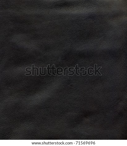 Close-up HQ natural leather texture to background - stock photo