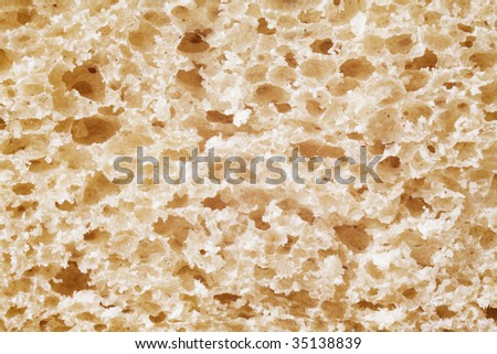 close up image of bread sliced