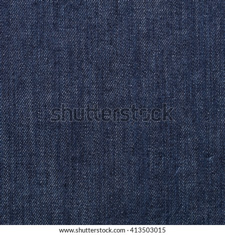 Close up jeans or denim cloth texture background - stock photo