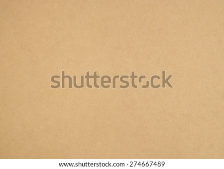 Close up natural brown paper texture background - stock photo