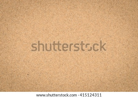 close up nature background of sand pattern of a beach in the summer - stock photo