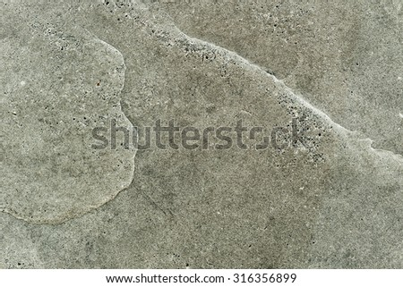 close up of a beige natural stone - stock photo