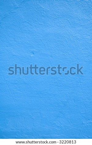 Close up of a blue wall.