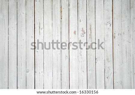 Close up of a blue wooden fence - stock photo