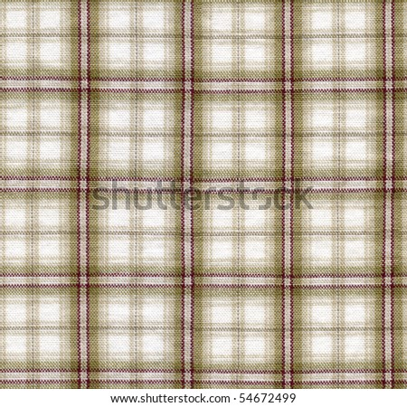 Close-up of a brown checked cloth, seamless background