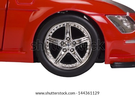 Close-up of a car - stock photo