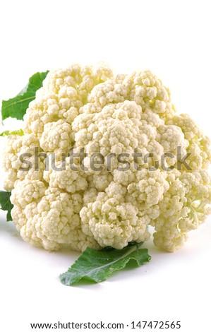 Close-up of a cauliflower  - stock photo