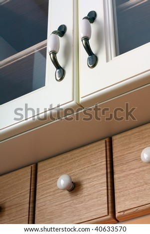 Close up of a classic kitchen - stock photo
