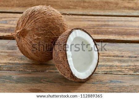 close up of a coconut - stock photo