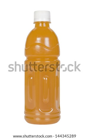 Close-up of a cold fruit juice - stock photo