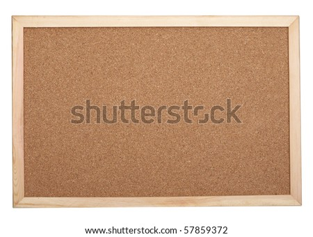close up of a cork board texture background - stock photo