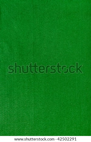 Close-up of a green poker table felt surface - stock photo