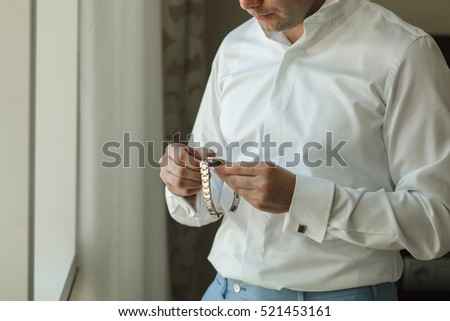 Shirt Cuff Stock Images, Royalty-Free Images & Vectors | Shutterstock